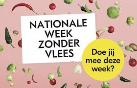 8 – 14 maart: Week zonder vlees
