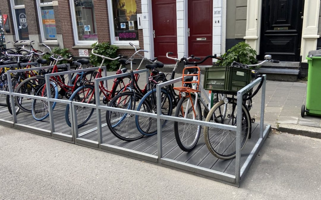 Fietsvlonders, ook in Delft?