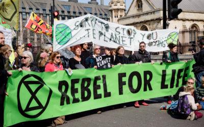 11 – 18 oktober: Klimaatrebellie